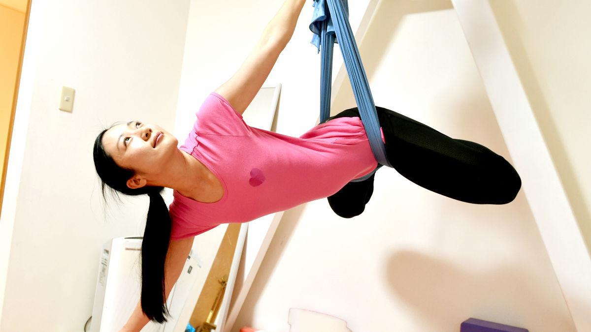 Air yoga 空中瑜伽