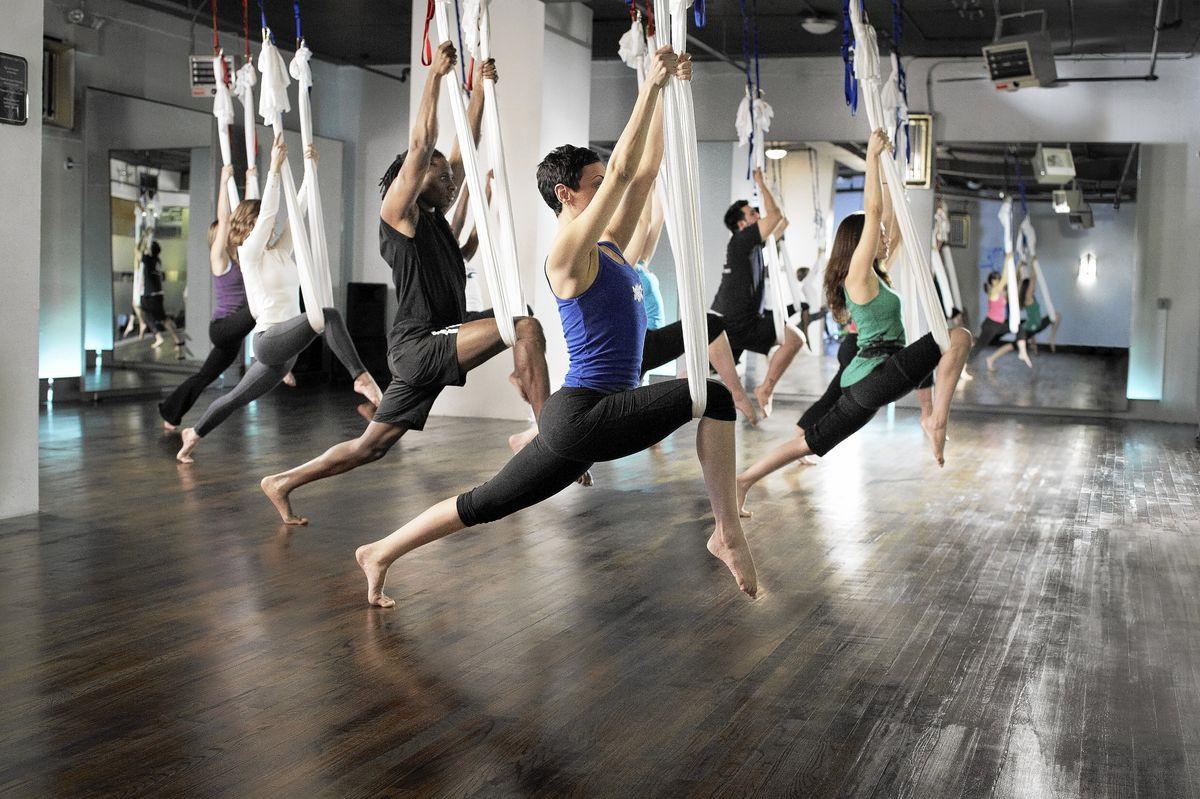 空中瑜伽 Air yoga