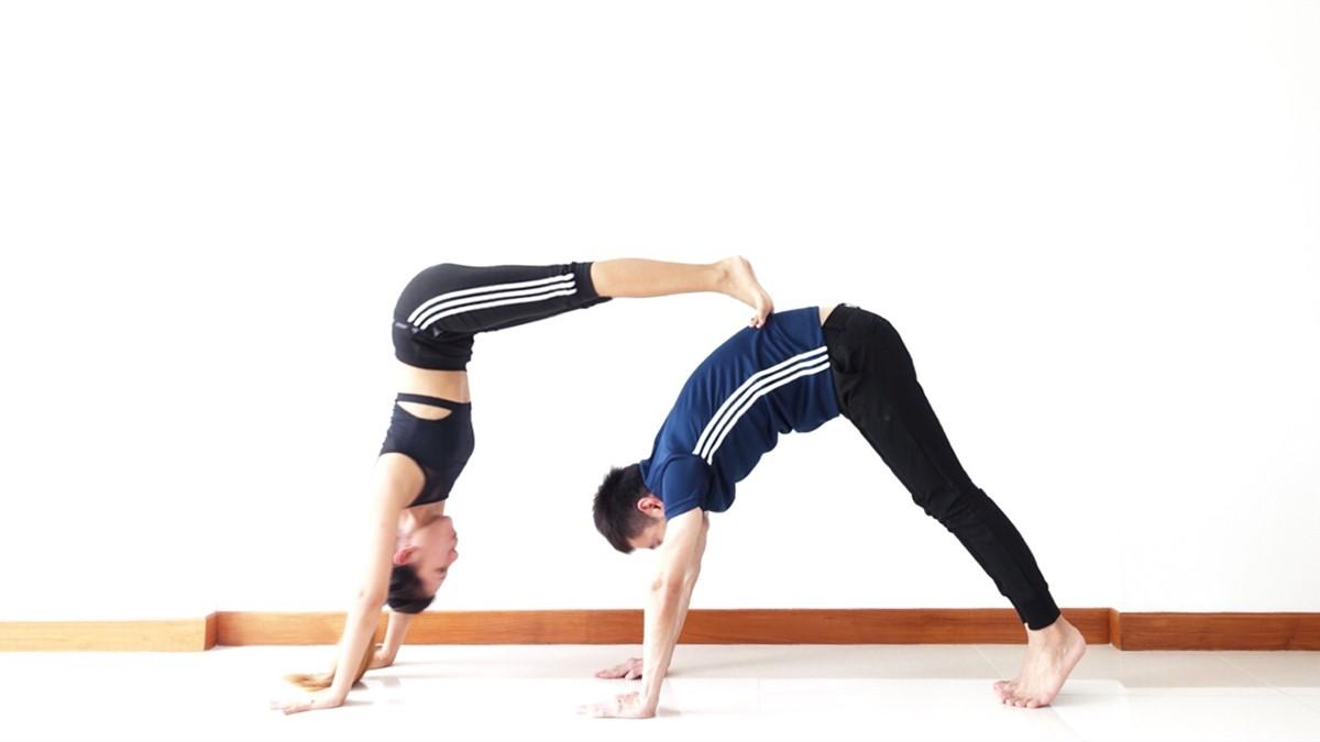 Couples yoga 情侣瑜伽