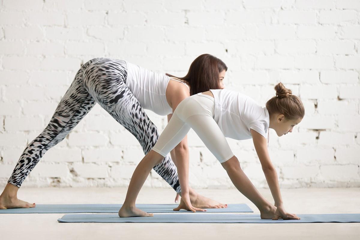 Parent-child yoga 亲子瑜伽