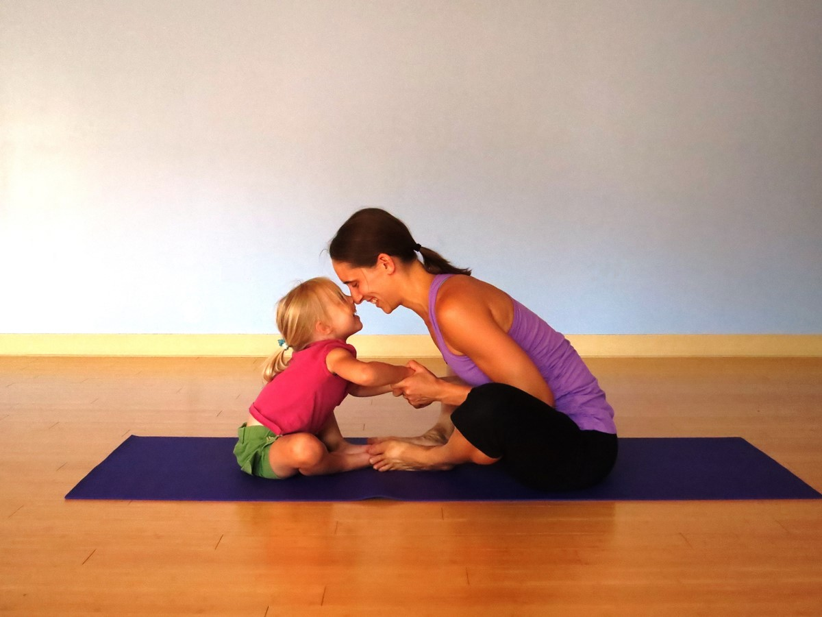 Parent-child yoga 亲子瑜伽