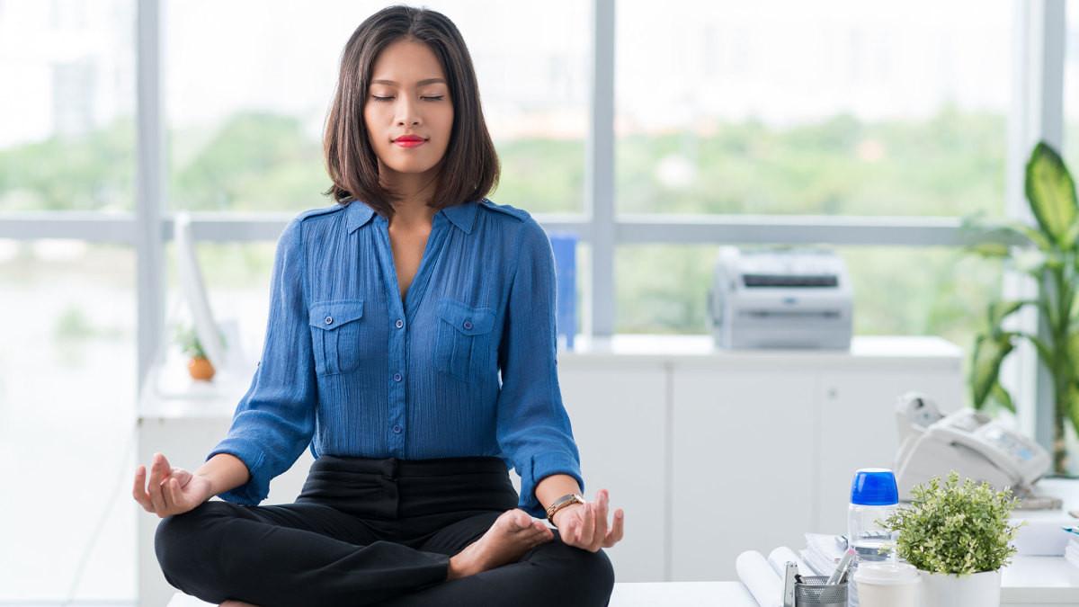 办公室瑜伽 Office yoga